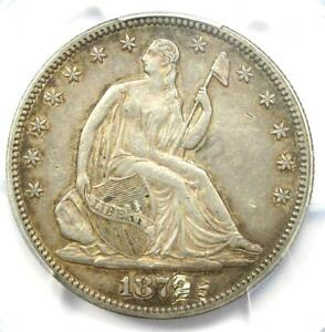 1879 Seated Liberty Half Dollar 50C - PCGS XF Details (Damage) - Rare Date!