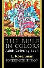 Bible in Coloring Pocket-Size Edition: By Rosenman, L.
