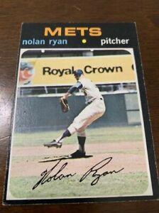 1971 Topps Nolan Ryan Beautiful Card!