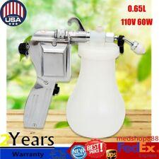 0.65L Textile Spot Cleaning Spray Gun Pressure 10-15Cm Spraying distance 110V Us