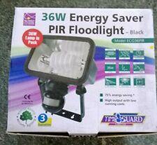 Timeguard 36W Energy Saver PIR Floodlight - Black - ECO36PIR