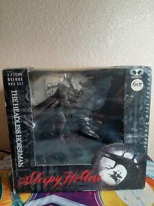 McFarlane Toys Headless Horseman Deluxe Box Set Sleepy Hollow 1999