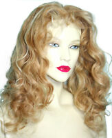 HUMAN HAIR Full Lace Wig Blonde Mix Indian Remi Remy Bodywave #27/613 Mix