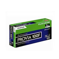 5 Rolls Fujifilm Fujichrome Provia 100F RDPIII 100F 120 Slide Film Fresh 2021