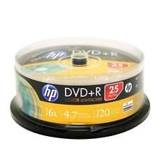 HP COLOR LIGHTSCRIBE DVD+R 16X 4.7GB 120 MINS; MULTI-COLOR 25-pk spindle