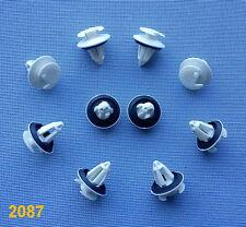 (2087/ 50C) 10x Türverkleidung Clips Befestigung Klips Halter Tür weiß W202 W210