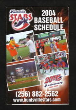 2004 Huntsville Stars Schedule--Colonial Graphics