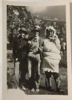 Vintage 1947 Photo of Funny Girls Dressed in Crazy Halloween Costumes