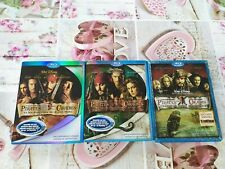 3 Blu ray pirates des caraïbes Disney