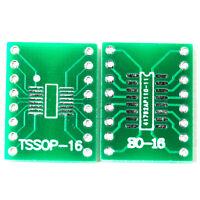 5pcs SO16 SSOP16 TSSOP16 SOIC16 MSOP16 to DIP16 Adapter Converter PCB Board MA