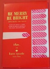 designer Kate Spade NY New York  Christmas nail stickers stocking stuffer XMAS