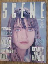 1987 Scene Magazine - The Pogues ; Rebecca De Mornay ; Eric Stoltz