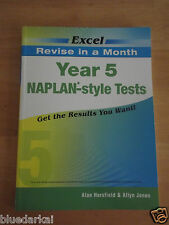 EXCEL YEAR 5 NAPLAN-STYLE TESTS  *NEW*