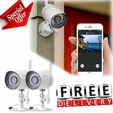 Wireless Outdoor Security Camera System 720p Video Home Indoor Night Vision New