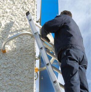 "Roof Zone 48586 - Aluminum Extension Ladder Corner Stabilizer 18"" Standoff"