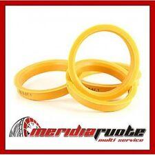 fz80 4 pezzi anelli di centraggio 67,0//63,4 mm marrone scuro per Alufelge