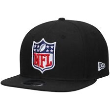 New Era NFL Shield Logo Black Original Fit 9FIFTY Adjustable Snapback Hat