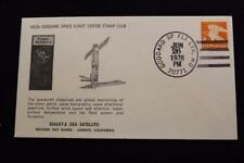 SPACE COVER 1978 HAND CANCEL SEASAT-A GLOBAL MONITORING SATELLITE LAUNCH (4987)