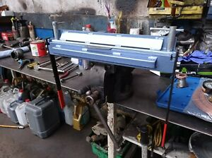 "Bending metal sheet folder, bender - 450mm (17.7"") / 1.2mm Steel - uk seller"