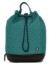 New Hurley Solana Convertible Beach Bag Backpack Green Black HZQ025303NS 303