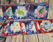Pokemon Stickers Go Pikachu Nintendo Large Stickers 69 lot 1995 1996 1998