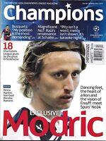 Champions Soccer Magazine Luka Modric Sergio Busquets Alessandro Nesta Coaches