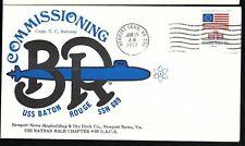 1977 USS Baton Rouge SSN 689 Ship Cover  a