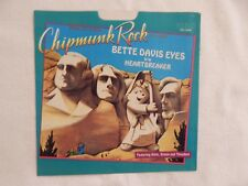 "Chipmunk Rock ""Bette Davis Eyes"" PICTURE SLEEVE! NEW! RARE! ONLY COPY ON eBAY!"