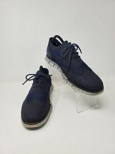 COLE HAAN Men's USA Sz 10M ZeroGrand  Wingtip Oxfords Lace Up Shoes C22842