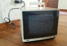 "VINTAGE RCA 9"" XL-100 xl100 1988 Portable Retro Gaming CRT TV EPR295A Television"