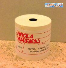 CARTOLERIA UFFICIO - 2 rotoli di carta per calcolatrice - 6 cm x 35 metri