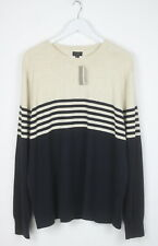 J. Crew Men's X LARGE Soft Cotton Crew Neck Two Color Everyday Sweater 5720 mm