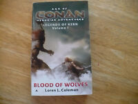 AGE OF CONAN HYBORIAN ADVENTURES- LEGENDS OF KERN VOL 1 - 6/05 - ACE - 1ST PB ED