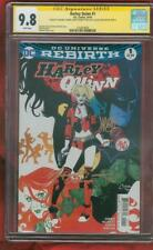 Harley Quinn 1 Rebirth CGC 3X SS 9.8 Conner Palmotti Sinclair Suicide Squad film