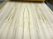 "Spalted Maple real natural wood veneer 24"" x 120"" x 1/40th"" with paper backer AA"
