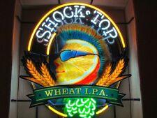 "Rare New Shock Top Wheat IPA Beer Bar Light Neon Sign 24""x20"""