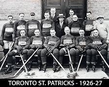 Toronto St Pats 1926-27, 8x10 B&W Photo