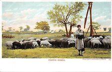 B78343 pastor roman sheep shepherd types folklore costumes   romania