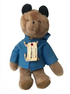 "1975 EDEN 18"" Paddington Teddy Bear Plush Stuffed Animal Missing Yellow Hat"