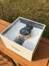 NEW! Fossil Tech Gen 5 Julianna HR Rose Gold Bracelet Smart Watch FTW6035