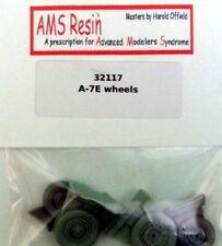 AMS Resin 1/32 Vought A-7E Corsair II Wheels Set