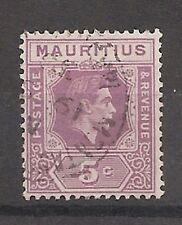 Used Single George VI (1936-1952) Mauritian Stamps