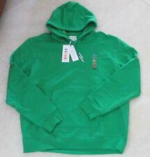 NEW LE Lacoste x Polaroid Hoodie Sweatshirt Size XXL GREEN $195.00