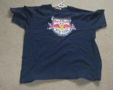 New York Red Bulls MLS Soccer Men's Graphic Logo Tee Shirt Size XL Used