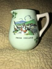 Carrigaline Pottery Ireland 3 Leaf Clover Creamer Ceramic
