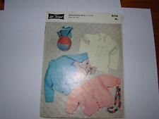 Vintage Lee Target Baby Coats Knitting Pattern 6118