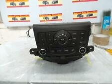 HOLDEN CRUZE RADIO/CD/DVD/SAT/TV STANDARD CD PLAYER, JH, W/ BLUETOOTH TYPE, 03/1