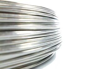 Aluminiumdraht Aludraht Basteldraht Biegedraht 2mm - 118m blank
