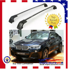 Top Roof Rack Fit For BMW X4 F26 2014-2017 Baggage Luggage Cross Bar crossbar