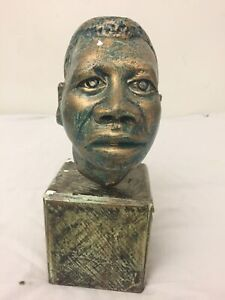 Booker T. Washington Commemorative Bust Sculpture African American Black America